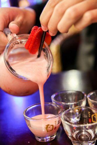 Makkoli Fruit Cocktail :: $14++/glasss $48++/jug
