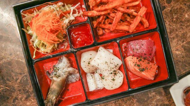 Bento Seafood Platter :: $55++