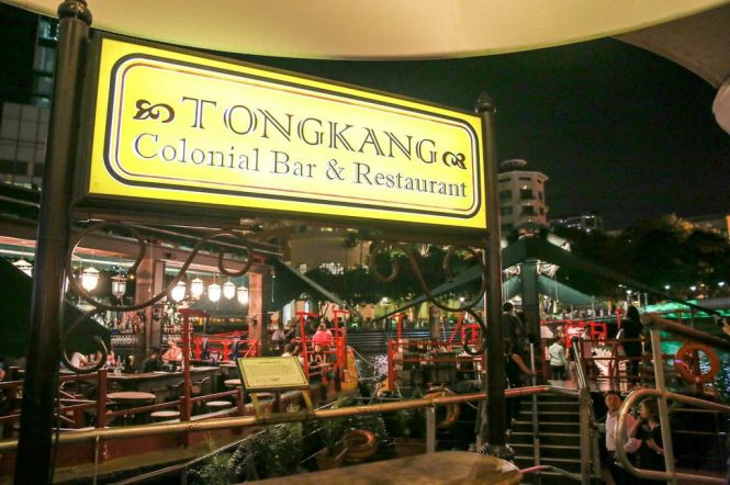 TongKang Colonial Bar & Restaurant.