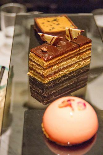 Rose & Lychee Mousse :: $4.90++ Gateaux Gateaux Opera :: $6.90++ Salted Caramel & Chocolate Tart :: $4.90++
