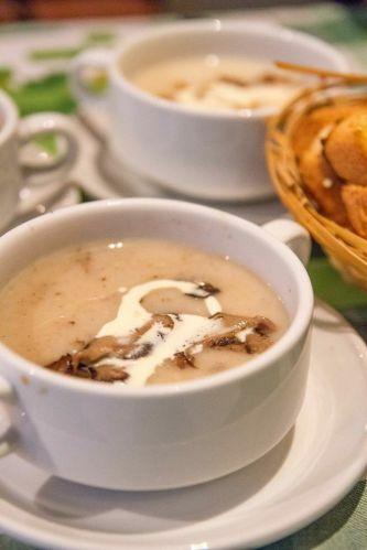 Mushroom Soup :: $