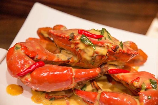 Salted Egg Yolk Crab,
