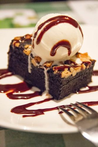 Brownie A La Mode.