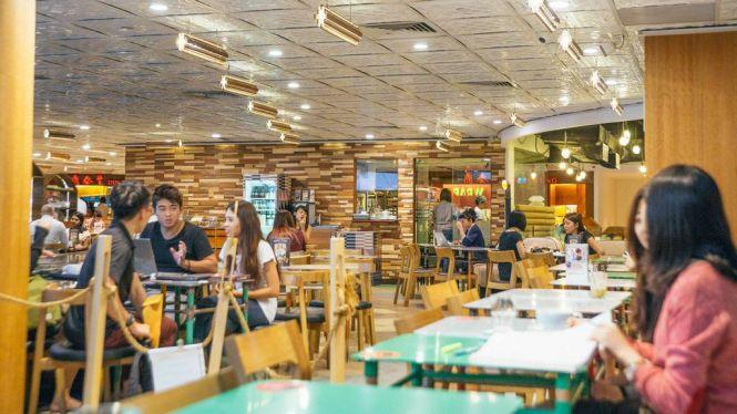 Tiong Bahru Bakery @ Raffles City Shopping Centre.