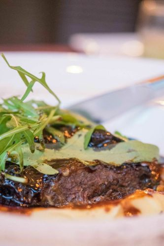 Beef Cheek Braised in Red Wine :: $37++
