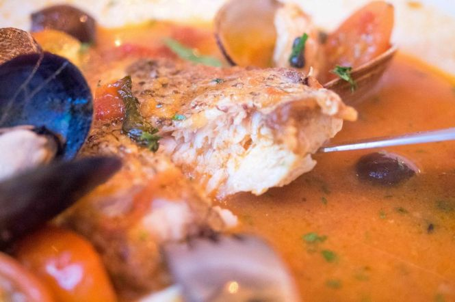 Braised Fish in Aqua Pazza :: $43++