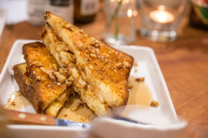 Peanut Butter and Banana French Toast :: $11.90++