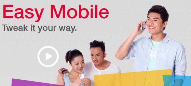 Singtel Easy Mobile.
