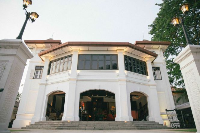 Alkaff Mansion Ristorante.