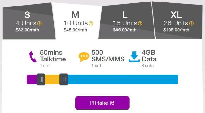4GB of Mobile Data.