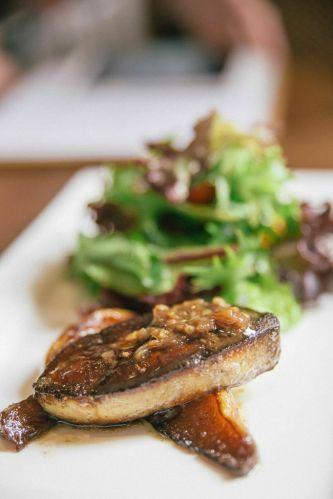 Pan-Seared Foie Gras :: $11.80++
