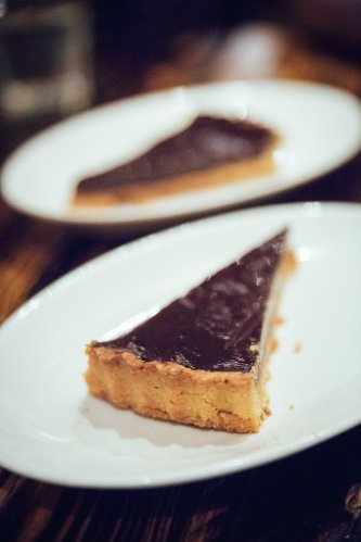 Chocolate & Peanut Butter Tart :: $14++