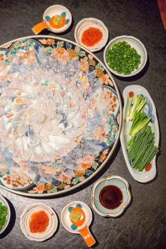 Fugu Sashimi :: $70+