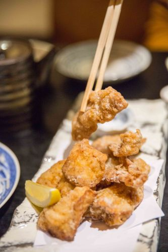 Deep-fried Fugu (Fugu Karaage) :: $