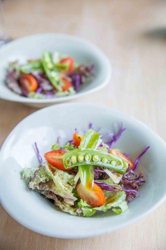 Wasabi Yuzu Salad.