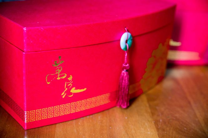 Singapore Marriott Tang Plaza Hotel Mooncakes Box.