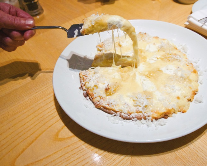 Durian Mascarpone Pizza