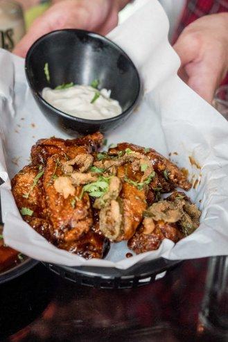 Honey Tequila Chicken Wings :: $19++