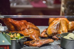 Chinese Style Roasted Christmas Goose :: $185+