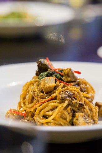 """""""Katong"""" Chicken Laksa Spaghetti :: $22++"""