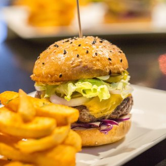 The SPRUCE Burger :: $20++