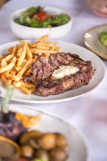 Grilled Black Angus Rib Eye Steak :: $39.80++